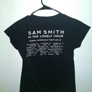 sam smith Tops - SAM SMITH CONCERT T-SHIRT - 2015 Lonely Hour Tour
